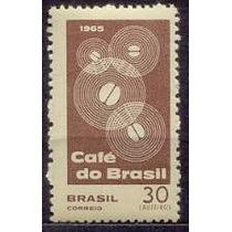 Selo Brasil,prop.café Do Brasil Marmorizado 1965,novo.