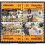 Selo Panamá,série Natal/cidade Das Crianças 80,novo.v Descr