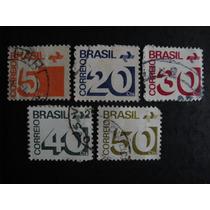 5 Selos Brasileiros - Centavos - Brasil