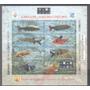 =cp:= Selos Brasil/ Bloco113= Peixes Do Pantanal/ Aquario