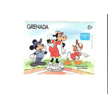 Lindo Selo De Grenada - Mickey, Donald E Clarabela !!!