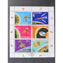 Panama 1969 Bloco Astronautica Satelites Cpd