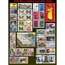 Cuba - Ano Completo De 2012 - 71 Selos E 4 Blocos Novos Mint