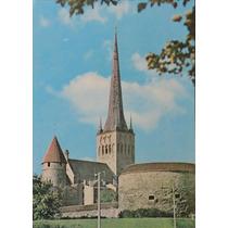 Urss 1979 Inteiro Postal Novo Castelo Na Estônia Arquitetura