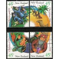 Natal - 18906 - Nova Zelandia - Christmas 1991 - Montagem