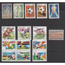 Futebol - Coleção De Selos Novos Brasileiros - 7125