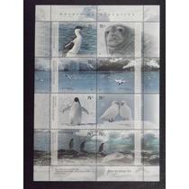 Fauna Marinha - Carneiros Folhinha Com 8 Selos