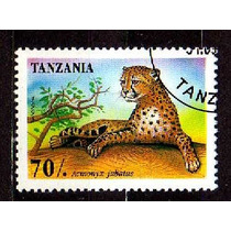 Tanzania 1995 * Felino Predador * Chita * Guepardo