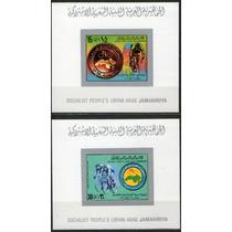 Líbia 1979 Campeonato Ciclismo Jr (imp) Min Set Comp (0126)