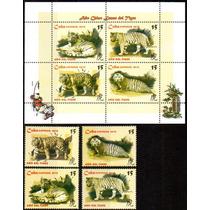 Cuba 2010 - Fauna. Ano Chinês Do Tigre. 4 Selos + 1 Bloco