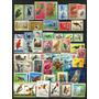 Ms0496 Lote De Selos Novos Mint Com O Tema Fauna, Pássaros
