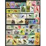 Ms0506 Lote De Selos Mint Com Tema Pássaros