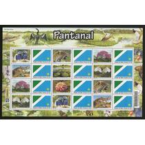 Folhas Brasil 2010 - Pantanal - Personalizados - Escassas!