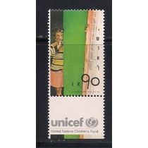 Jmarsch Selos Israel 1989 Unicef Fundo Amparo Crianças Tab