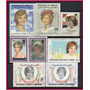 Diana, Princess Of Wales (1961-97) - 8 Selos Diversos