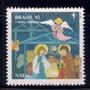 Selos Brasil 1993 Natal Presepio Manjedoura Menino Jesus Anj