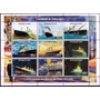 Selos Guiné 1998 Navio Transatlantico Titanic Naufragio Barc