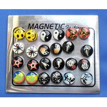 Brincos Magnéticos Unissex - Não Precisa Ter Orelha Furada