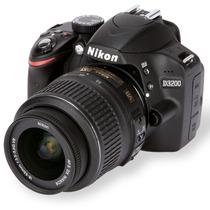 Câmera Nikon D3200+ Lente 18-55mm +32gb+bolsa+tripe