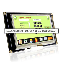 Display Lcd Touch Screen Colorida 3.2 Pol. Arduino (1011)