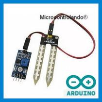 Sensor De Umidade Do Solo Com Cabos Exemplo - Arduino
