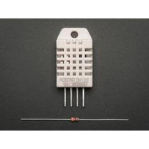 Dht22 Sensor Temperatura E Umidade Arduino Pic + Resistor