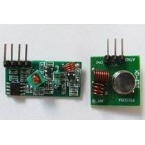 Modulo Rf 433mhz - Transmissor + Receptor Sem Fio
