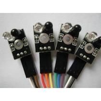 Módulo Seguidor De Trilhas 4 Vias Arduino