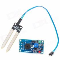Módulo Sensor Detecção De Umidade De Solo Fc-28