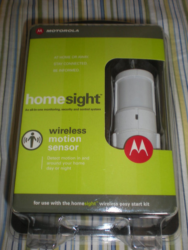 Sensor De Presença Motorola Wireless Homesight Hmsm4050