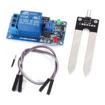 Sensor De Umidade De Solo Com Acionamento De Rele Automático