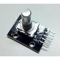 Encoder Decoder Rotativo 360 Graus Ky-040 Arduino