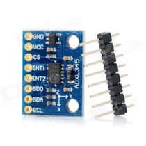 Modulo Sensor Acelerômetro 3 Eixos Gy-291 Arduino Adxl345