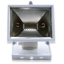 Refletor Para Lâmpada Halógena Branco + Lâmpada 300w 220v
