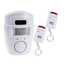 Alarme Sensor Infravermelho Presença Campainha Sem Fio 10 Mt