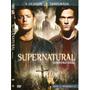Dvd Supernatural 4ª Temporada Discos 1 A 3 Episódios 1 - 12