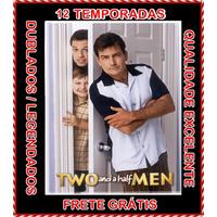 Dois Homens E Meio 12 Temporadas Completas E Frete Grátis