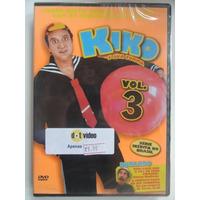 Dvd Kiko E Sua Turma Vol 3 - Novo Lacrado - Chaves Madruga