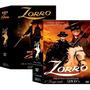 Zorro Série Clássica De Tv Coleção 2 Boxes 10 Dvds Originais