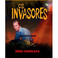 Dvd Os Invasores - The Invaders - Série Completa E Dublada