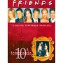 Box Dvd Friends 10 ª Temporada Digipack Lacrado