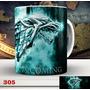 Caneca Game Of Thrones Casa Stark - Lobo - Got , Xicara #004