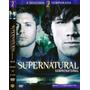 Dvd Supernatural 2ª Temporada Discos 1 A 4 Episódios 1 - 15