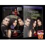 Seriado The Vampire Diaries 1º A 5º Temp + Brinde, Lindo Box