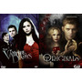 The Vampire Diaries + The Originals Todas As Temporadas Dvd