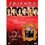 (04) Dvds Novo Seriado Friends 2ª Temporada Completa Lacrado