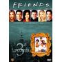 Box Dvd Friends 3ª Temporada - Novo - Lacrado (4 Dvds)
