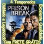 Prison Break 1ª Até 4ª Temporada + Filme Com Frete Grátis
