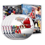 Dvds Power Rangers Super Megaforce Temporada Completa