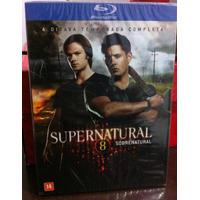 Bluray Supernatural Oitava Temporada - Lacrado